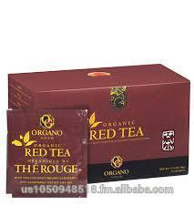 Organo Gold Red Tea W/Cordyceps & Ganoderma