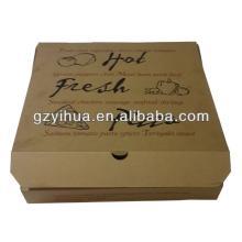 hot sale professional custom pizza box factory in guangzhou