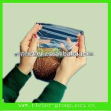 Clear Biodegradable Plastic Self-adhesive Bag For Hamburger