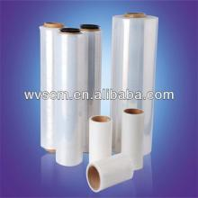 Food grade LLDPE transparent packaging film,cling wrap on roll with SGS/FDA certified