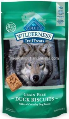 Custom   print ing  bag s for dog treats
