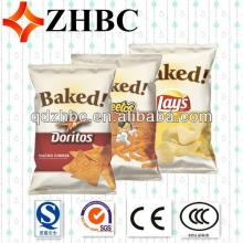 Plastic  custom   print ed  bag  of chips productions