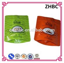 Custom printed ziplock bag for pistachios almonds