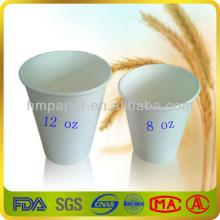 Corn starch blank cups