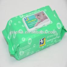 OEM biodegradable all natural  bamboo  aloe vitamin E deodorant wet wipes
