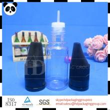 ISO8317 10ml bottle with child proof and sealed cap steam turbine atomizer vitamin e acetate liquid