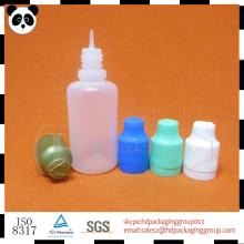 wholesale 30ml clear plastic pill bottles vitamin e acetate liquid bottle with colored cap from Guan
