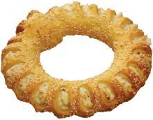 Handmade White Cheese Sesame Bread-Ring