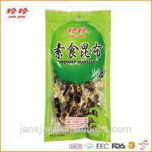 Prepared Seaweed Seafood Snack