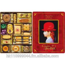 Tivolina Japanese Red Hat Cookies 590g