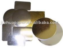 gold silver foil laminated  cake   base s