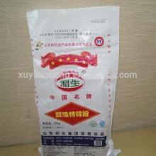 25kg woven polypropylene bags for salt with inner layer bag