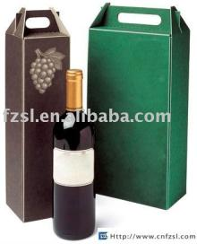PWXJS001 corrugated  paper   wine   box