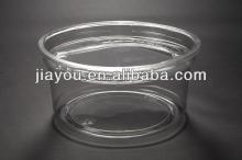 clear 12oz disposable plastic PET dessert cup