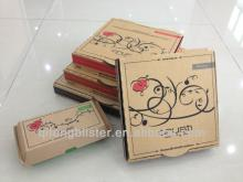 cheap customized AU crust pizza boxes/food packing boxes/food packaging boxes