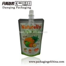 Plastic Packaging Pouch, Stand up Pouch with Spout, Spouted Pouch