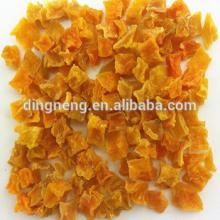 yellow dehydrated sweet potato belong to air dried food size 10x10x10mm