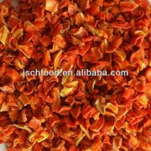 dehydrated carrot 10x10x2mm flake 3% low sugar