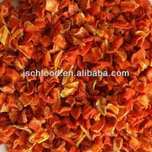 dehydrated carrot 10x10x2mm flake 3% low sugar