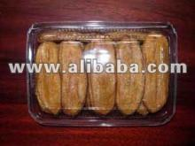 Thai baked banana whole with honey