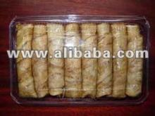 Thai roll banana baked with filling
