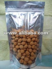 Coated peanuts coconut flavour
