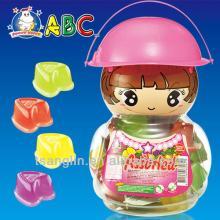 ABC Fruity Bites Peach Cup Doll Jar 1280G royal Jelly