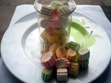 Assorted fruit mini twist Cotton marshmallow candy