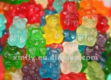 Sugar free bear shape gummi candies