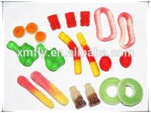 assorted designed shapes halal custom jelly gummy candy