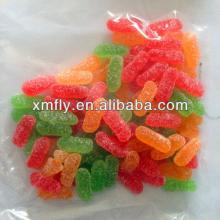 colors sugar coated bulk mini gummy worm