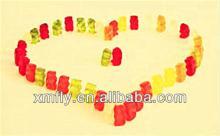 Custon halal Bear shaped vitamins gummi candy