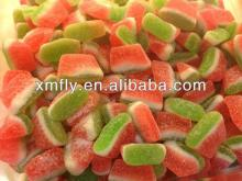 sugar coated sweet watermelon slice jelly gummy candy sweets