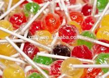 Round Sweet Lollipop Candy Hard Candy Stick