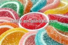 custom jelly bulk colors soft fruity orange Slices pectin jelly candy