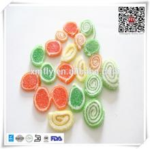 1500g Jar Packing Sugar Coated Vitamins Orange Slices Jelly Candy
