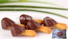 Chocolate   Stick  Biscuit Mushroom Shape Candy