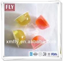 Plastic Jelly Pudding Cup Soft Lychee Fruit Drinks