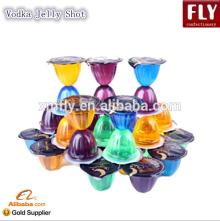 Fruit Flavored Wine Jelly Shots Whisky Gel Cup