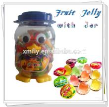 Fruit Jelly Candy Pudding Cup Jar Packaging fruit Flavor