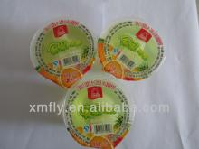 Sweet Flavour Lychee Cup Jelly Fruit Pudding Juice
