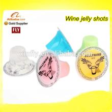 Assorted Natural Fruit Flavors Ingredients For Vodka Jelly Shot Gel Alcohol Cocktail Drink