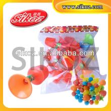 Air  Cylinder  Horn Toy Candy SK-T979