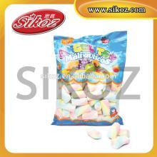 SIKOZ Brand 500g cylinder shaped muti-colored marshmallow candy