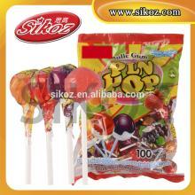 Pin Pop bubble gum lollipop SK-B013