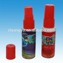 fruit flavor sweet spray liquid candy