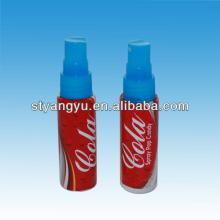 sweet spray liquid candy with cola flavor