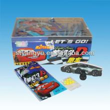 3D  Puzzle  Pull-back Car