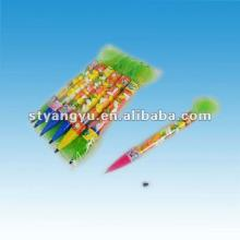Children Plastic Toy Pen with Candy