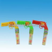Whistle Gun Toy with candy Toy candy